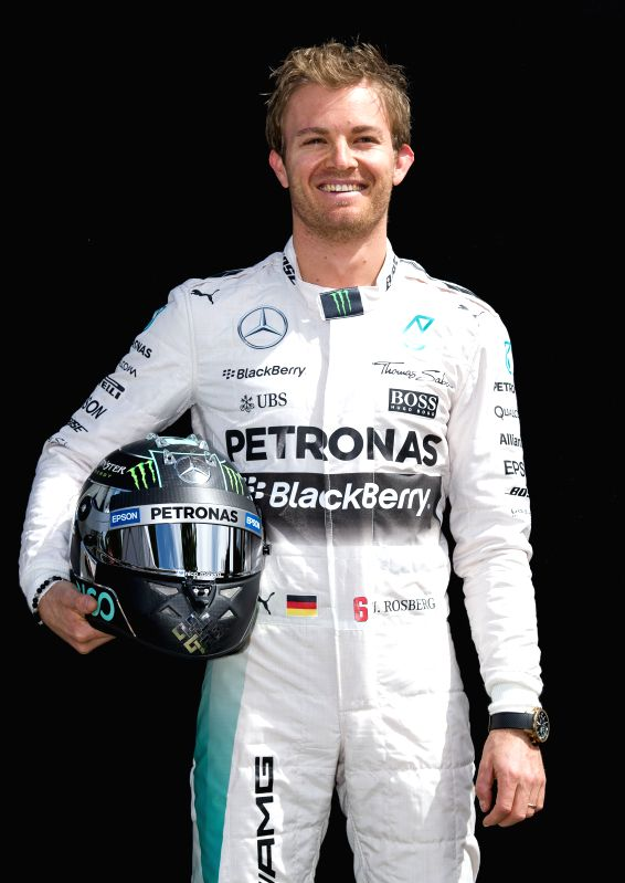 Mercedes AMG Petronas Formula One driver Nico Rosberg of Germany poses for the season-opening driver portrait session ahead of Australian Formula One Grand Prix ...