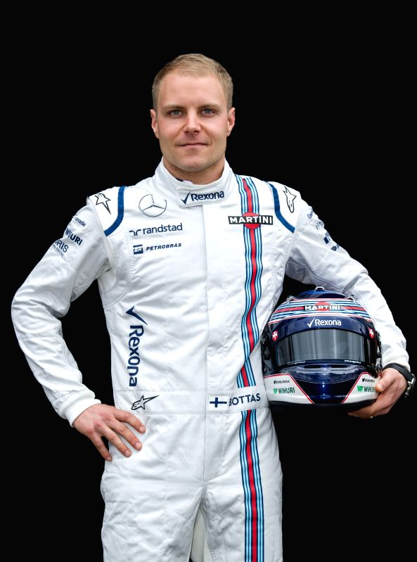 Williams Formula One driver Valtteri Bottas of Finland poses for the season-opening driver portrait session ahead of Australian Formula One Grand Prix at Albert ...