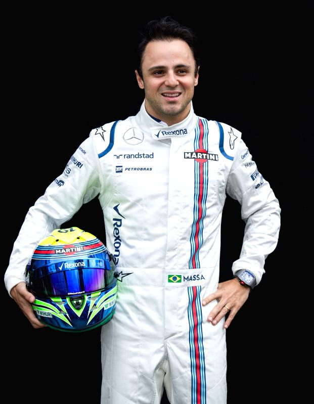 Williams Formula One driver Felipe Massa of Brazil poses for the season-opening driver portrait session ahead of Australian Formula One Grand Prix at Albert Park ...