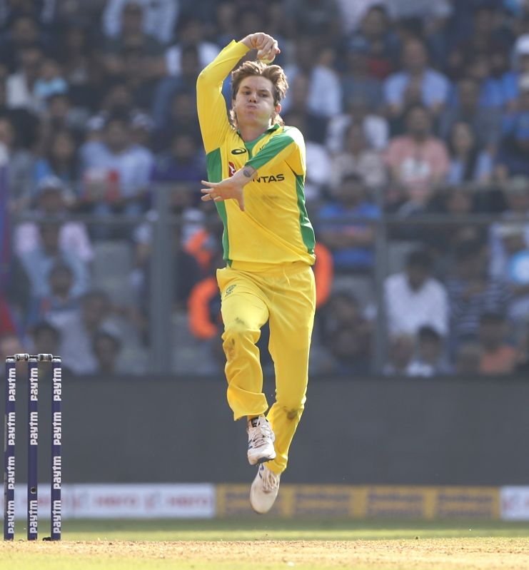 Melbourne, May 12 (IANS) Australia leg-spinner Adam Zampa has expressed his desire to play Test cricket for his country and referred to it as his ultimate goal. (File Photo: Surjeet Yadav/IANS)