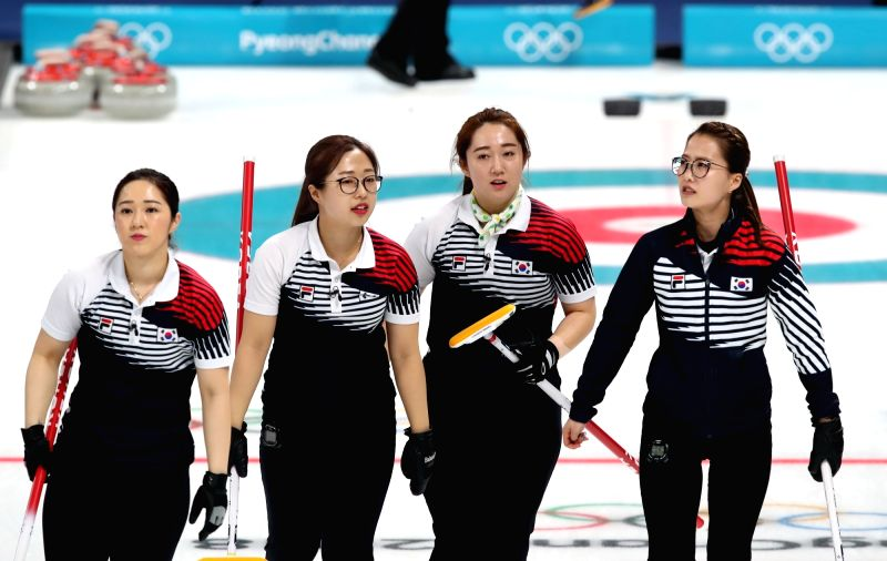S. Korea-OAR women's curling
