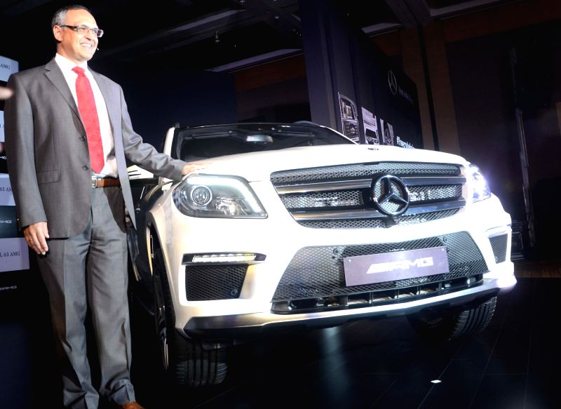 Mercedes Benz India Managing Director and CEO Eberhard Kern during launch of GL 63 AMG in Mumbai on April 15, 2014.