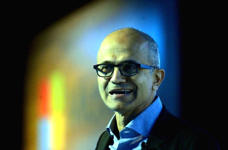 Microsoft CEO Satya Nadella. (File Photo: IANS)