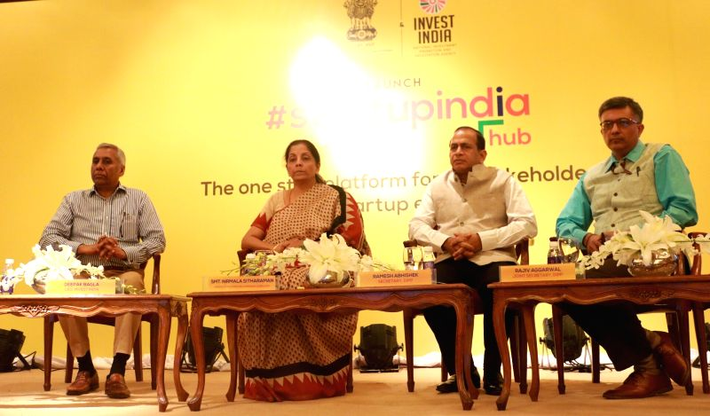 Nirmala Sitharaman launches 'Start-Up India Hub