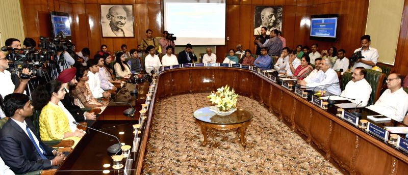 Minister of State for Development of North Eastern Region (I/C), Prime Minister's Office, Personnel, Public Grievances & Pensions, Atomic Energy and Space, Dr. Jitendra Singh addresses ... - Jitendra Singh