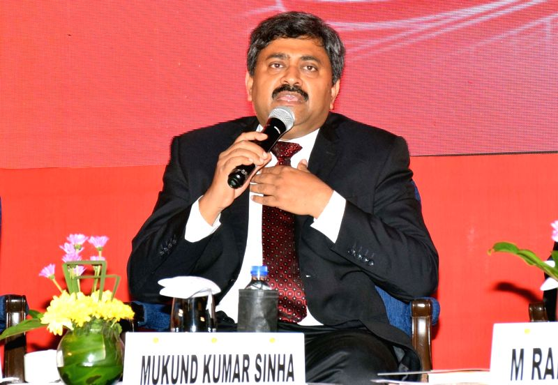Ministry of Housing and Urban Affairs OSD and Joint Secretary (Urban Transport) Mukund Kumar Sinha addresses during an interactive session on 'Mass Rapid Transport Systems for Urban Areas: ... - Mukund Kumar Sinha