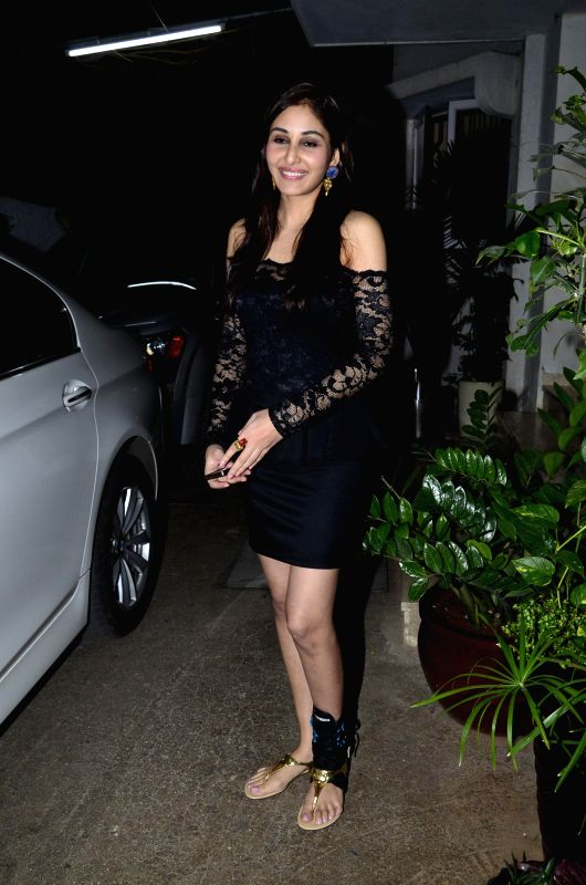 Miss India Pooja Chopra during the first look of documentary film The World Before Her at juhu in Mumbai on 22nd April 2014. - Pooja Chopra