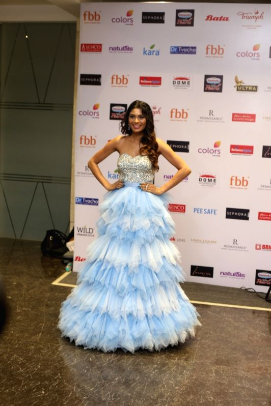 Miss United Continents 2016 2nd runner up Lopamudra Raut at the Red Carpet for the Grand finale of Miss India 2018 in Mumbai on June 19, 2018.