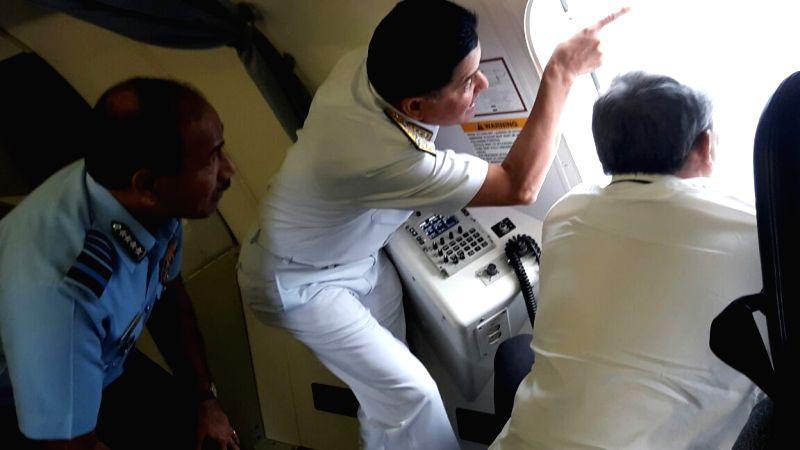 missing IAF plane, Parrikar monitors search op