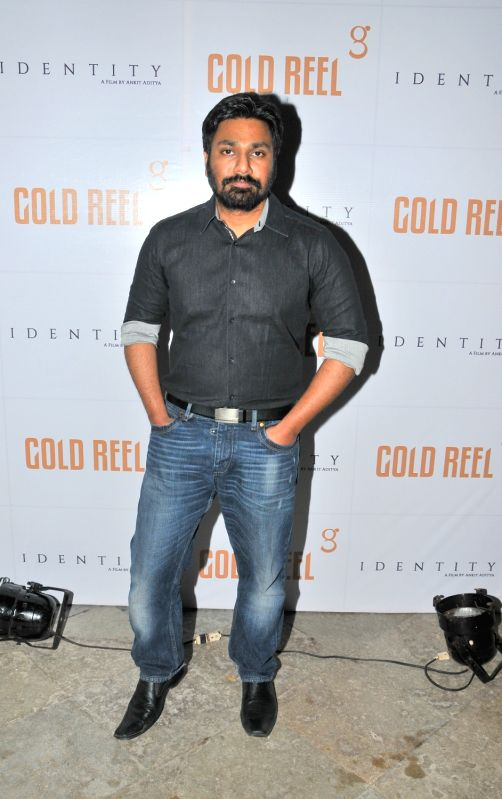 Mithoon during the Gold Reel Productions launch party in Mumbai on Dec 1, 2015