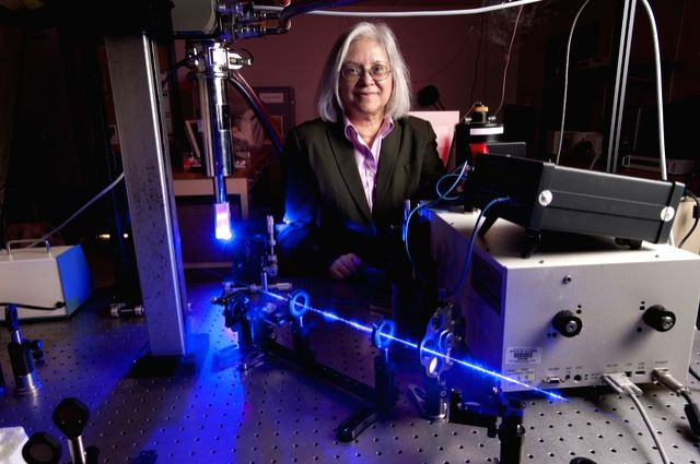 Mitra Dutta, a distinguished Indian-American engineer-physicist, who has been named vice chancellor for research at the University of Illinois at Chicago.