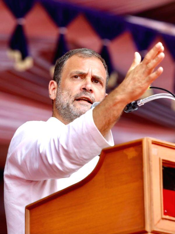 MK Stalin, Congress MP Rahul Gandhi, Public meet