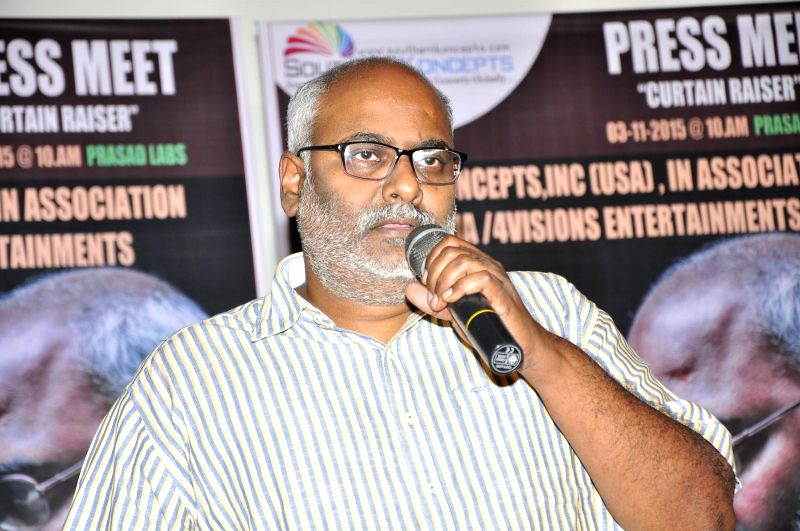 MM Keeravani USA Concert Pressmeet.