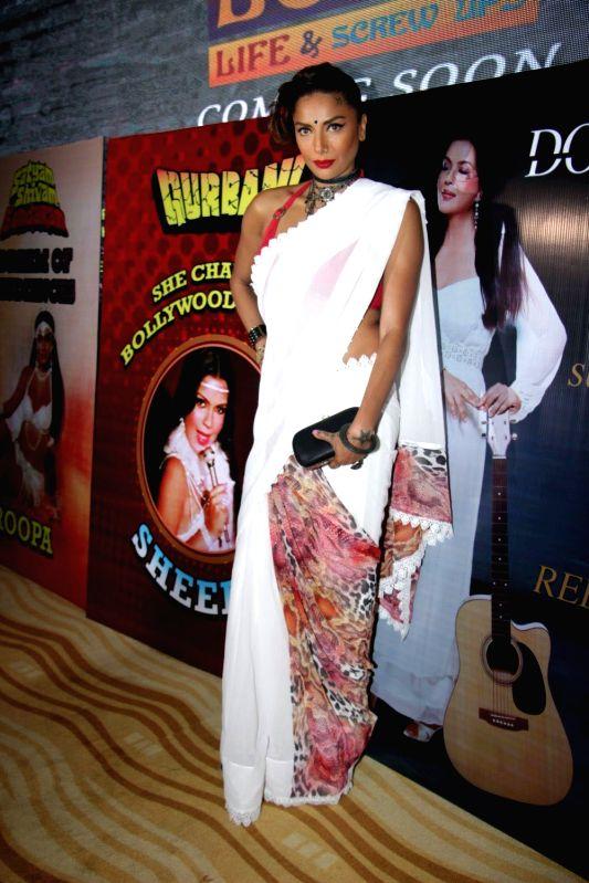 "Model Diandra Soares during premier of actress Zeenat Aman's debut web series ""Love Life and Screw Ups"" in Mumbai, on May 4, 2017. - Diandra Soares"