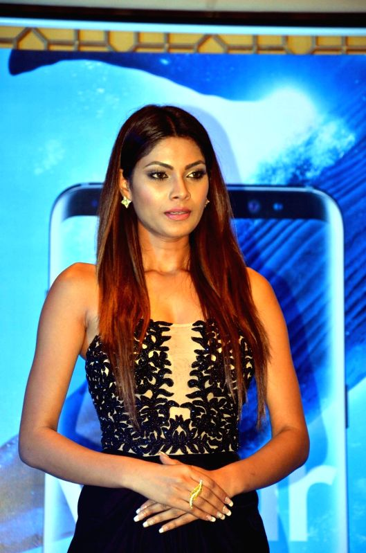 Model Lopamudra Raut during a programme in Agra on May 4, 2017. - Lopamudra Raut