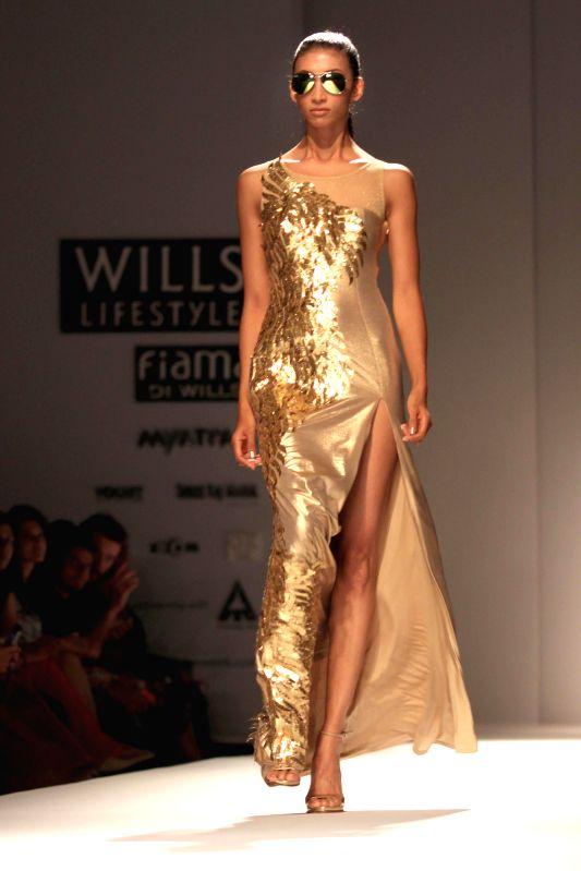 Wills Lifestyle India Fashion Week Ankita