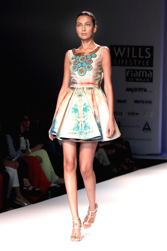 New Delhi Wills Lifestyleindia Fashion Week Jyoti