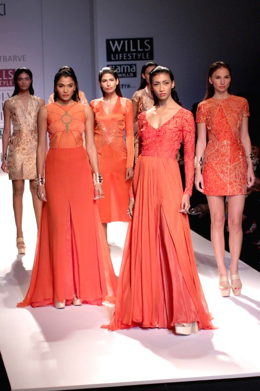Wills Lifestyle India Fashion Week Nachiket Barve