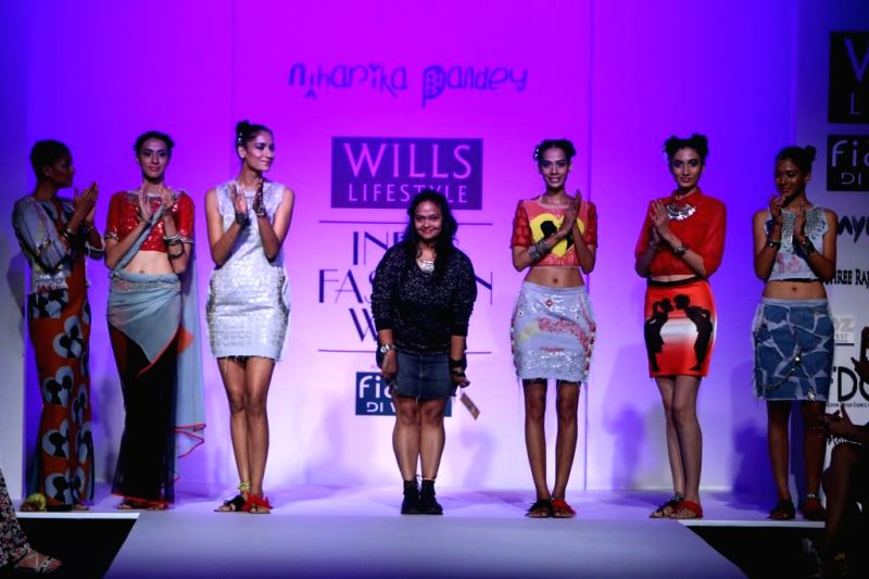 Wills Lifestyle India Fashion Week Summer Spring 2015 Niharika Pandey