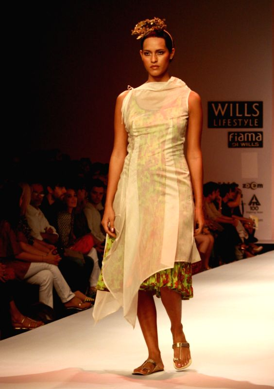 Designer Pratima Pandey Wills Lifestyle India Fashion Week 2013 Collections