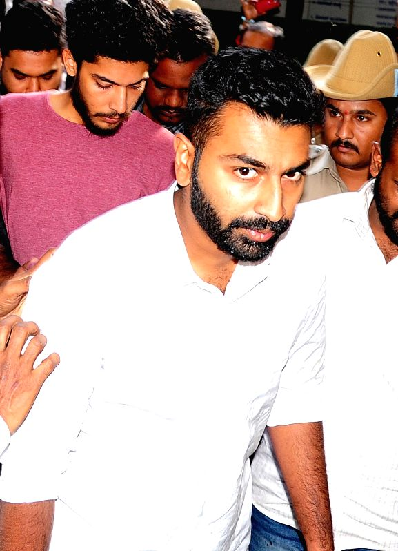 Mohammed Nalpad, son of Congress leader NA Haris who was granted bail in Bengaluru, on June 14, 2018. (File Photo: IANS)