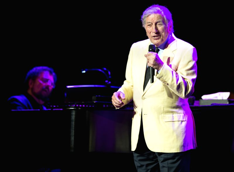 Tony Bennett performs during the Montreal International Jazz Festival in Montreal, Canada, July 1, 2014.