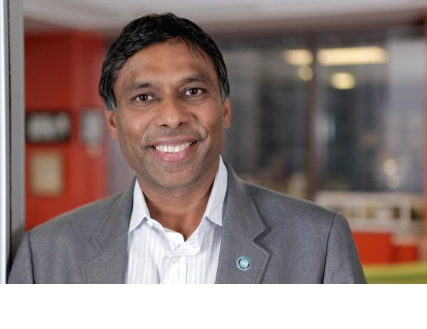 Moon Explorer, a company founded by Naveen Jain has received United States government approval to launch a moon lander that will explore it for minerals that can be mined. Jain is seen floating in an ... - Naveen Jain
