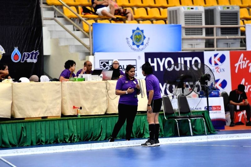 'More women in officiating job, thanks to Hockey India's pro-activeness'.