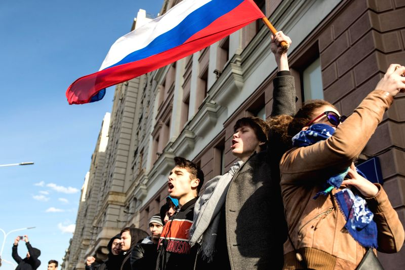 Anti-corruption protests sweep Russian Federation, opposition leader held