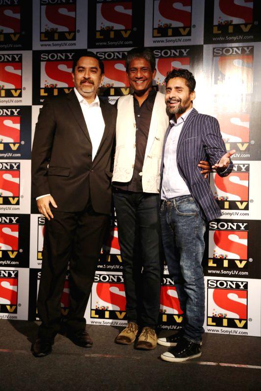 Mr. Uday Sodhi, Adil Hussain & Chandan Roy Sanyal - SonyLIV - Azaad Screening - Chandan Roy Sanyal