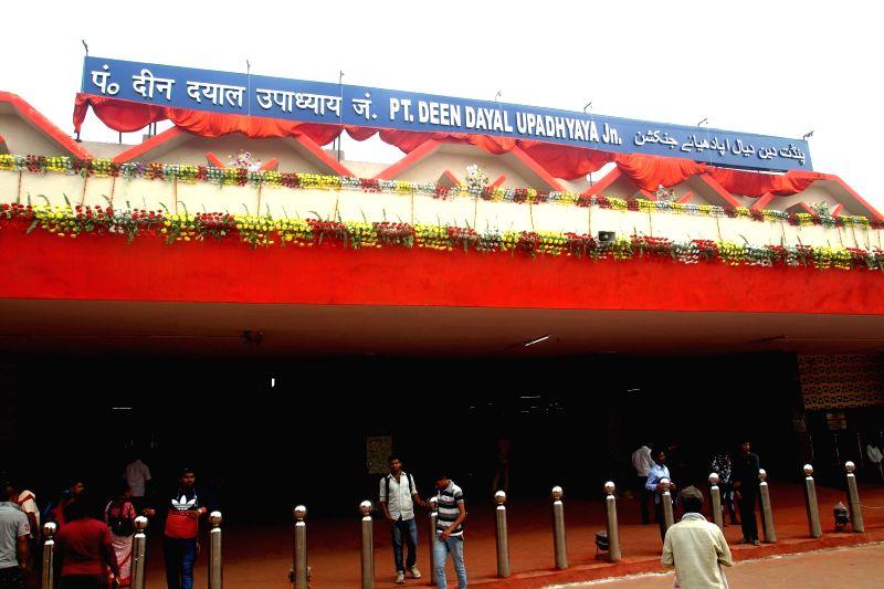 Mughalsarai Junction that has been rechristened as Deen Dayal Uphadyay station in Mughalsarai, Uttar Pradesh on Aug 5, 2018.