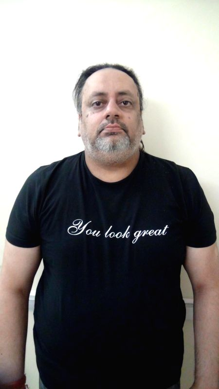 Mukul Paul Taneja who was arrested by Crime Branch of Delhi Police for allegedly duping an UK based NRI lady for Rs 10.50 lakhs in New Delhi on May 4, 2014.
