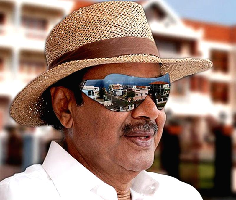 Multilingual Indian film producer Daggubati Ramanaidu (D Ramanaidu), who breathed his last in Hyderabad on Feb 18, 2015.