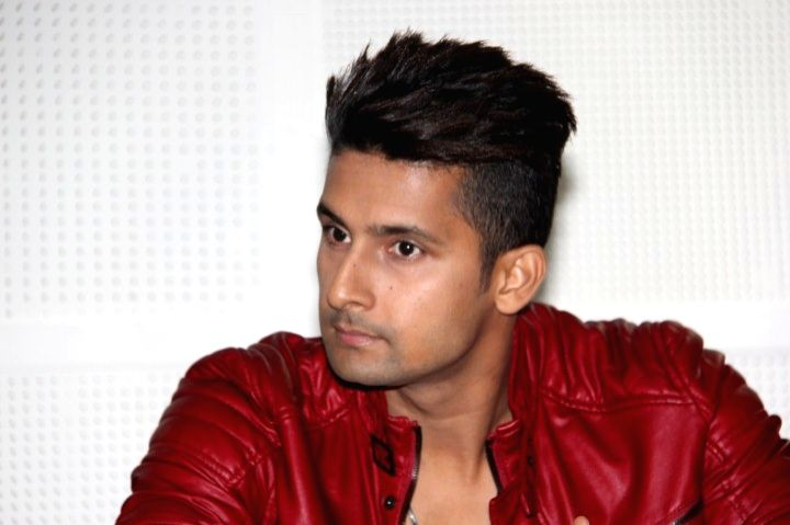 Acto Ravi Dubey during the mahurat of film 3 DEV in Mumbai