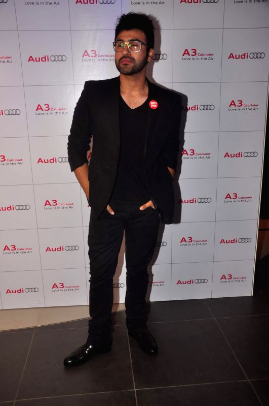 Actor Aarya Babbar during launch of Audi A 3, in Mumbai, on Dec. 20, 2014. - Aarya Babbar