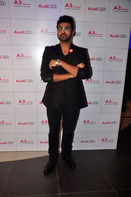 Actor Aarya Babbar during launch of Audi A 3, in Mumbai, on Dec. 20, 2014. - Aarya Babbar