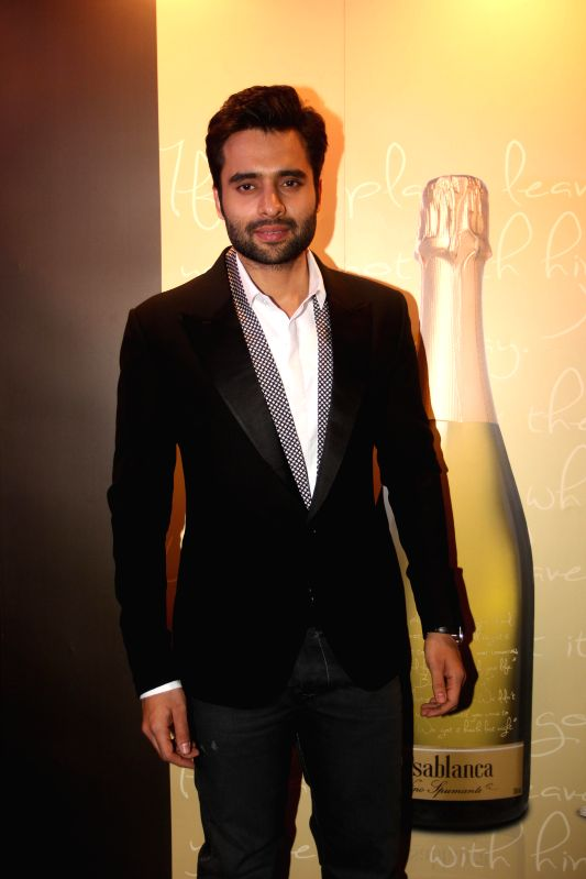 Actor ackky Bhagnani during the launch Rohit Khilananis book I Hate Bollywood in Mumbai,, on Jan. 22, 2015. (Photo: IANS
