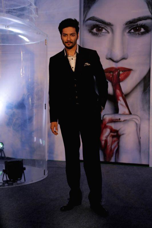 Actor Actor Ali Fazal during the music launch of film Khamoshiyan in Mumbai on 5th Jan 2015 - Actor Ali Fazal
