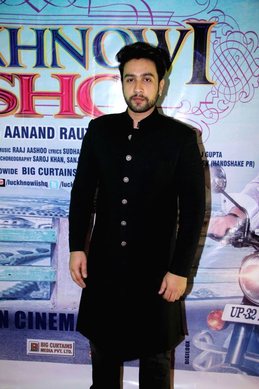 Actor Adhyayan Suman during the first look on film Luckhnowi Ishq in Mumbai on Tuesday, Jan 27, 2015. - Adhyayan Suman