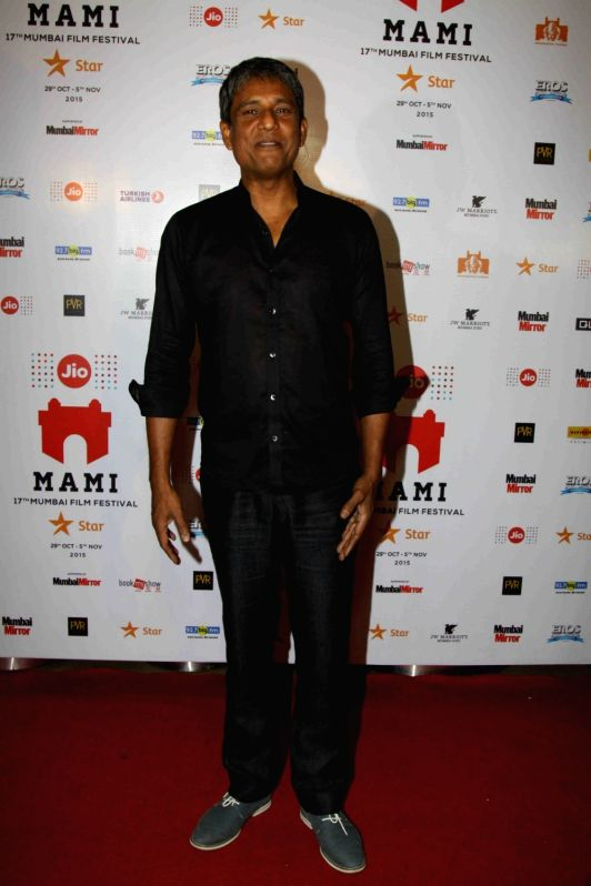 : Mumbai: Actor Adil Hussain during the special screening of film Angry Indian Goddesses, at the Jio MAMI 17th Mumbai Film Festival in Mumbai on Nov 3, 2015. (Photo: IANS).