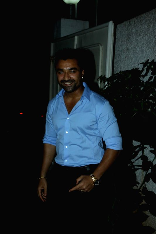 Actor Ajaz Khan during the trailer launch of film Ishqedarriyaan in Mumbai on 7th April 2015. - Ajaz Khan