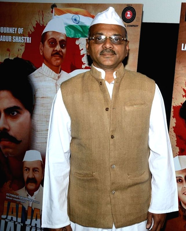 Actor Akhilesh Jain during the trailer launch of film Jai Jawaan Jai Kisaan in Mumbai, on Jan. 16, 2015. - Akhilesh Jain