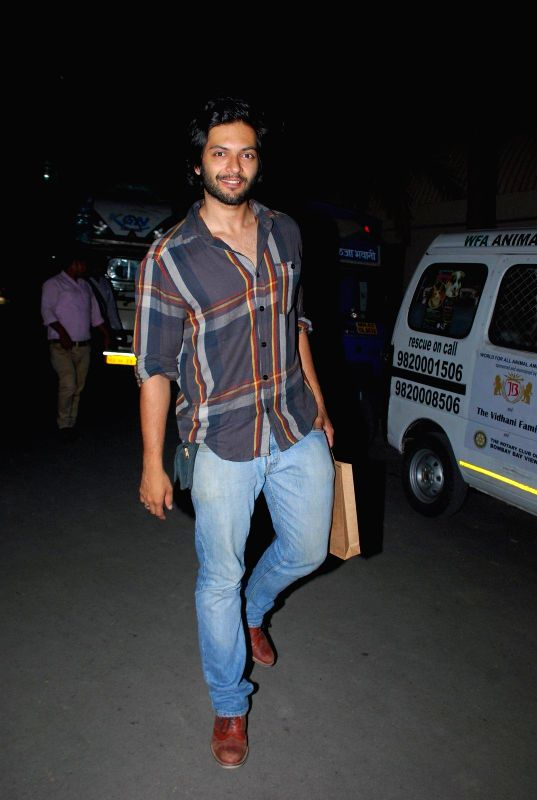 Actor Ali Fazal at Pet Adoption Camp in Mumbai, on November 23, 2014. - Ali Fazal