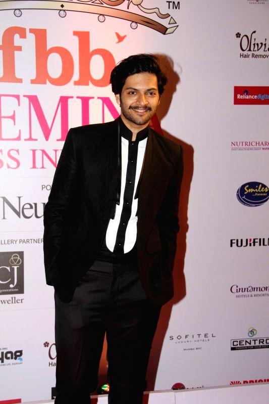 Actor Ali Fazal during the Grand Finale fbb Femina Miss India 2015 in Mumbai on March 28, 2015. - Ali Fazal
