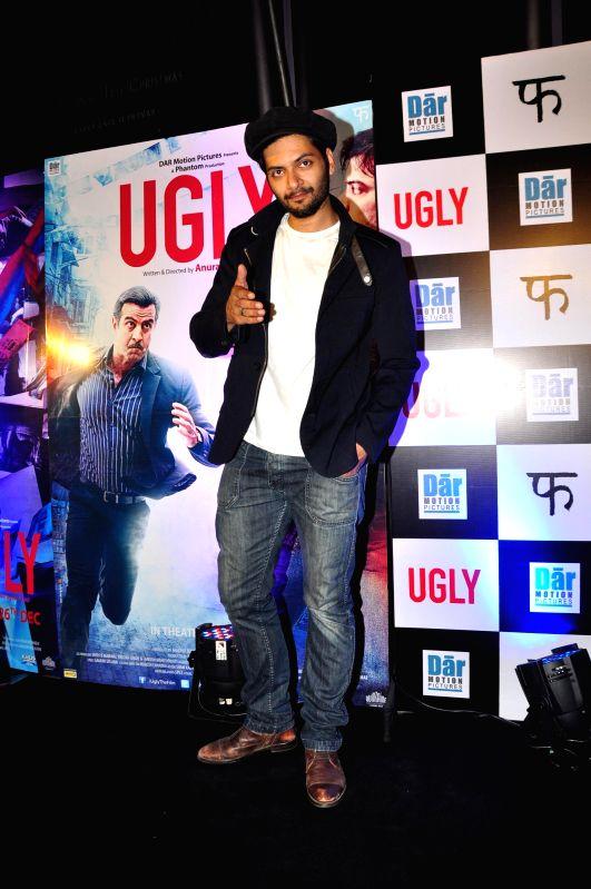 Actor Ali Fazal during the premiere of film Ugly in Mumbai on 23, Dec. 2014. - Ali Fazal