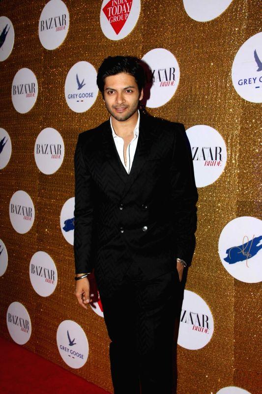 Actor Ali Fazal during the Red Carpet For Harper's Bazaar Bride 1st Anniversary Party in Mumbai on 12th February 2015. - Ali Fazal