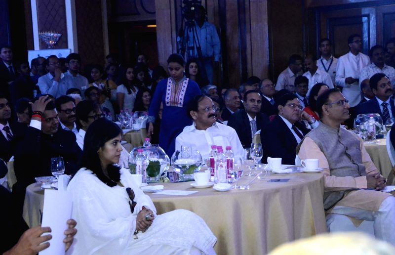Actor Amitabh Bachchan, producer Ekta Kapoor and Union Minister for Urban Development, Housing and Urban Poverty Alleviation and Parliamentary Affairs, M. Venkaiah Naidu at the inauguration .. - Amitabh Bachchan, M. Venkaiah Naidu and Ekta Kapoor