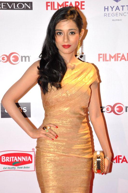 Actor Amrita Rao during the 60th Britannia Filmfare pre awards party in Mumbai, on Jan. 22, 2015. - Amrita Rao