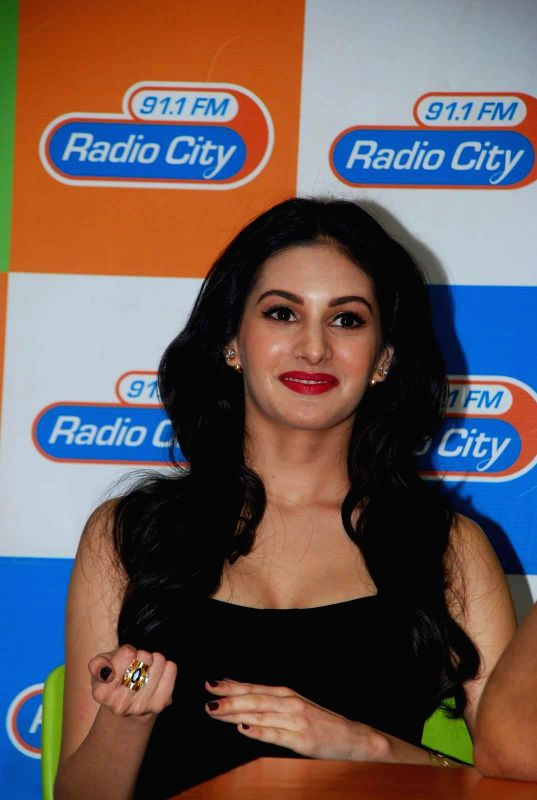 Actor Amyra Dastur during the music launch of film Mr. X at Radio City in Mumbai, on March 13, 2015. - Amyra Dastur