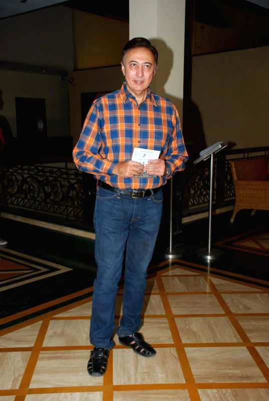 Actor Anang Desai during the media interaction of film Take it Easy in Mumbai, on Dec. 24, 2014. - Anang Desai